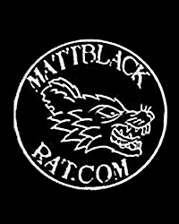 Matt Black Rat
